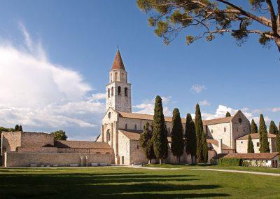 Zabytkowy kościół w Akwilei