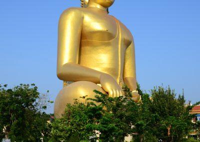 Złoty posąg