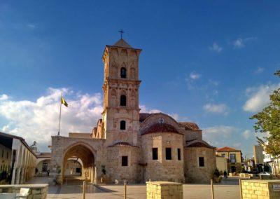 Prawosławny kamienny kościół