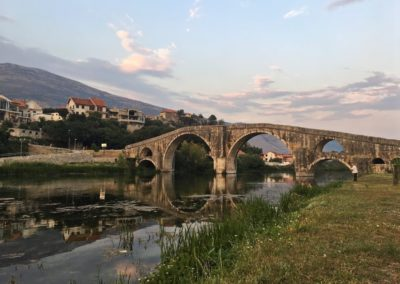 Bośnia - most w Trebinje
