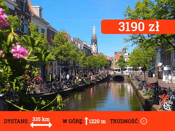 Wyprawa rowerowa Belgia i Holandia - cena