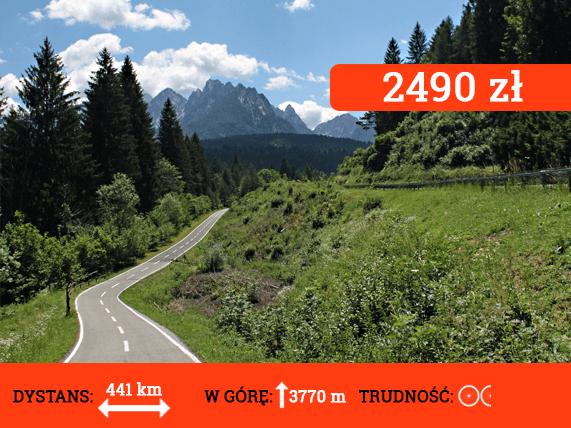 Alpe Adria Trail - cena