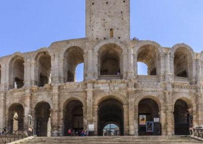Arena starożytnych walk - Koloseum w Arles