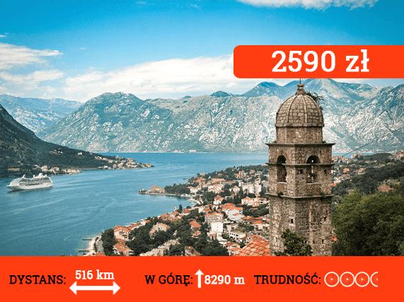 Wyprawa do Czarnogóry i Bośni - cena