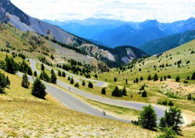 Przełęcz col d'Izoard w Alpach Francuskich