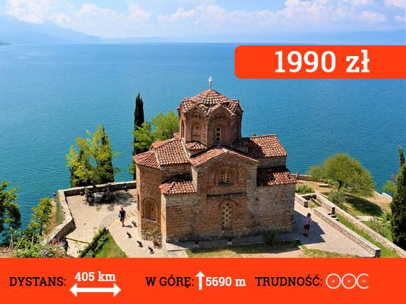 Wyprawa rowerowa do Macedonii Północnej - cena