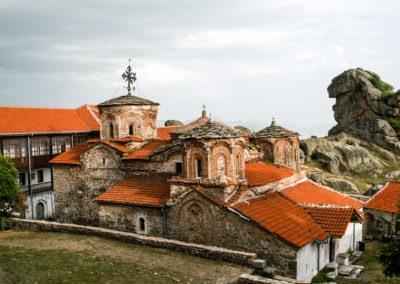 Monaster Treskavec o pięknej budowie