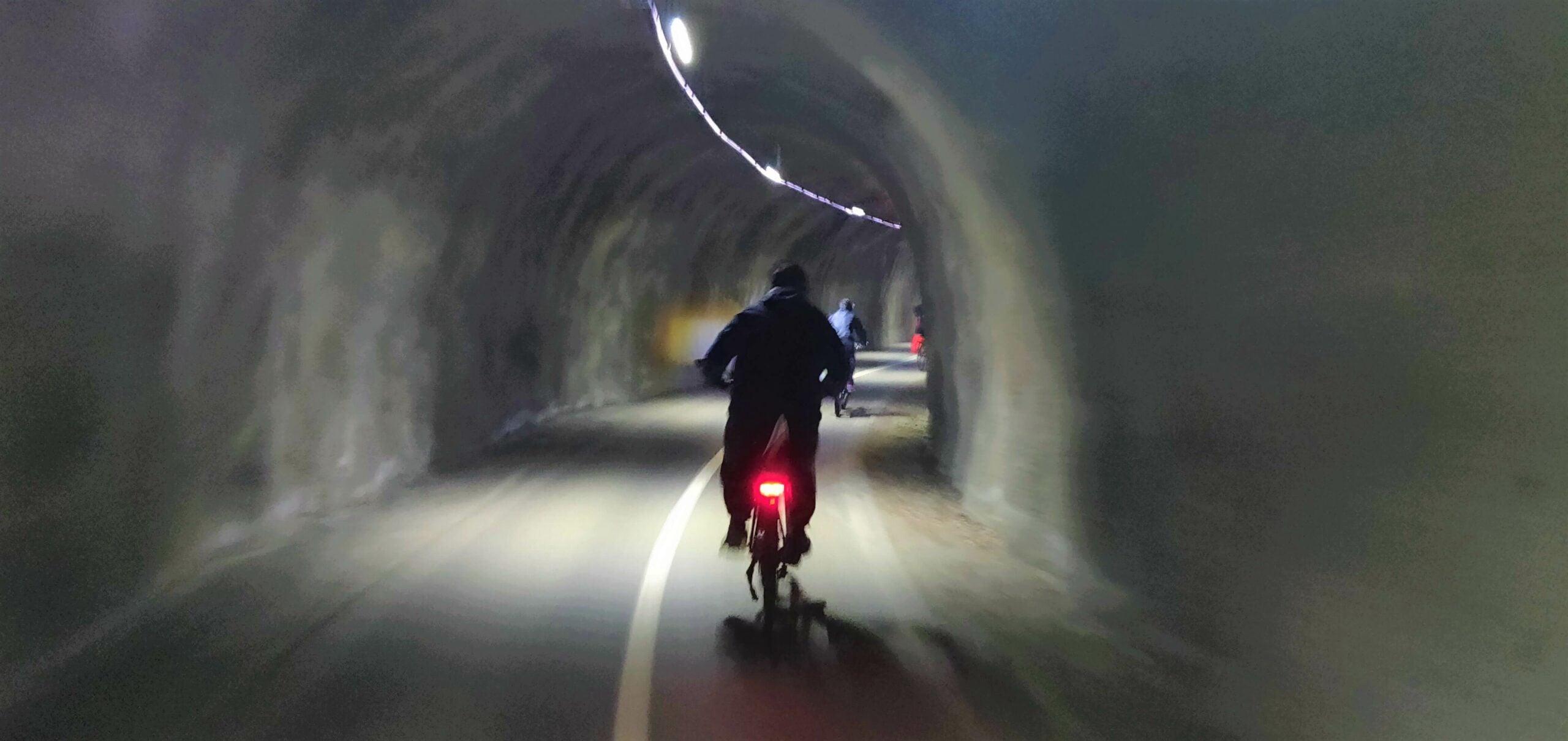 Wycieczka rowerowa - Tunel