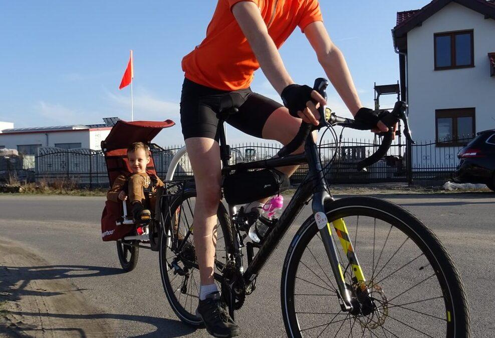 Przyczepka rowerowa Weehoo Thrill – testujemy!